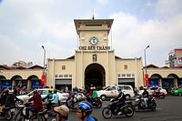 Ben Thanh Market, Ho Chi Minh City (Saigon), Vietnam.