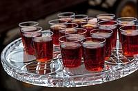 small alcoholic refreshments.