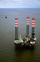 Installation for oil field drilling. Khanty-Mansi Autonomous Okrug-Yugra.