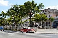 Paseo del Prado, Havana, Cuba