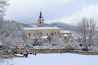 The monastery of Santa María de El Paular, founded in late 14th century by orders of Henry II of Castile and located in a beautiful landscape at Lozoy...