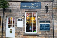Bakewell, a market town in Derbyshire peak district,england.