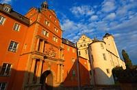 Bad Mergentheim, Deutschordenschloss, castle of the Teutonic Knights, Romantic Road, Romantische Strasse, Baden-Wuerttemberg; Germany; Europe.