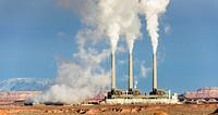 Navajo Coal Generating Station near Page, Arizona, USA.