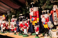 Europe, Germany, Berlin, Nutcracker, Soldier, A variety of traditional nutcracker figures The Nutcracker and the Mouse King German: Nussknacker und Ma...