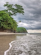 Coastline, Guanacaste,Costa-Rica.