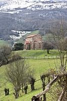 Santa Cristina de Lena is an Asturian pre-Romanesque church, built in the middle of the ninth century and located in the municipality of Lena, in the ...