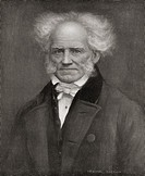 Arthur Schopenhauer, 1788 – 1860. German philosopher. From Bibby´s Annual published 1910.