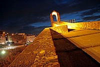 Pont del Diable at night, Martorell, Catalonia, Spain