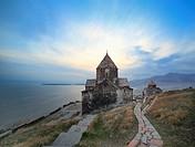 Sevanavank monastery, Lake Sevan, Gegharkunik Province, Armenia.