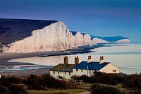 The Seven Sisters Country Park, Seaford, Sussex, UK.