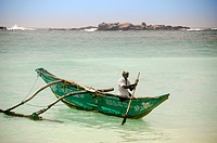A fisherman in Unawatuna, Sri Lanka.