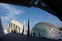 City of Arts and Science, Valencia, Spain.