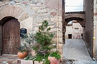 Village street, Artes,Catalonia,Spain.