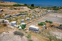 North Agora at Miletos. Anatolia, Turkey.