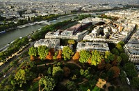 Paris. View from the Eiffel Tower.