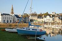 Bretagne, port de Binic.