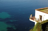 Espalmador Bay, Saint Jean Cap Ferrat, ALpes Maritimes, Provence Alpes Cote d´Azur, France, Europe.