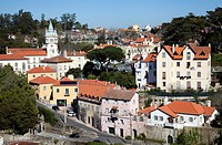 Sintra Town Buildings - Sintra Portugal.