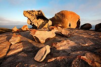 Remarkable Rocks in Flinders Chase National Park. Kangaroo Island, South Australia.