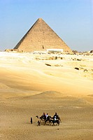 Pyramid of Cheops - Giza, Lower Egypt.