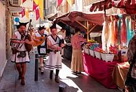 -Medieval Market in Alicante- Spain.