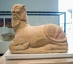 Bicha de Balazote (Bicha of Balazote), limestone. Museo Arqueológico Nacional (National Archaeological Museum), Madrid, Spain
