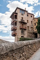 Casas colgadas (Hanging Houses). City of Cuenca (UNESCO World Heritage Site), Castile-La Mancha, Spain