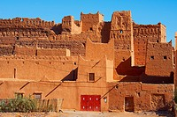 Old Kasbah, Zagora, Palm Grove, Oasis, Draa Valley, Souss-Massa-Draa region, Valley of the Draa river, Anti Atlas, Morocco, Maghreb, North Africa.