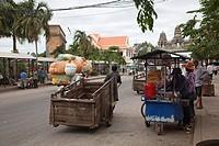 Border Cambodia Thailand at Poipet/ Aranya Prathet.