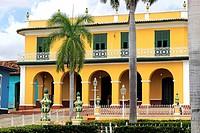 Brunet Palace on the Plaza Mayor, Trinidad, Cuba