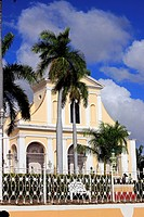 Church of the Holy Trinity on the Plaza Mayor, Trinidad, Cuba
