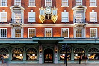 Fortnum & Mason Department Store, Piccadilly, London, England.