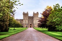 Windsor Castle, Windsor, Berkshire, England, UK.