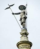 Pedro Mato statue. Catedral, Astorga, Leon province, Castile-Leon, Spain.