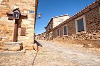 Castrillo de los Polvazares, Way of St. James, Leon, Spain.