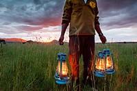 kananga camp. serengeti national park.
