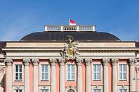 Fascade of City Palace, Potsdam, Germany.