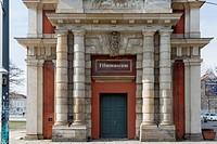 Movie museum in Marstall, Potsdam, Germany.