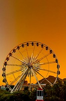 Ferris wheel, Victoria & Alfred Waterfront, Cape Town, South Africa.