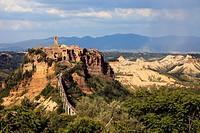 Civita di Bagnoregio, Tuscia, Lazio, Italy.