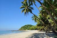 Myanmar, Rakhine State, Ngapali beach.