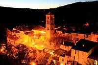 Moustiers Sainte Marie, Verdon regional park, Alpes de Haute Provence, Provence, France