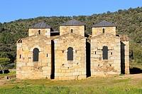Visigotic church of Santa Lucía del Trampal.7th century.Alcuéscar.Cáceres province.Extremadura.Spain