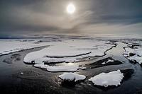 Myrdalsandur area, Southern Iceland.