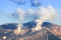 Volcano in Japan, Hokkaido.