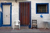 House, Villajoyosa, Alicante, province. Spain