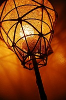 Drop light, low angle view,Do,Qatarh.