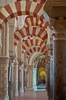 Great Mosque-Cathedral of Cordoba (Spain).