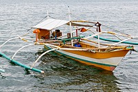 Boats in Puerto Princesa, Palawan, Philippines.